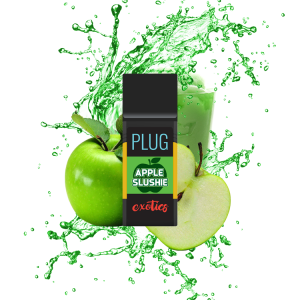Apple Slushie plug n play vape plug n play battery plug n play cartridge plug and play THC buy plug n play online